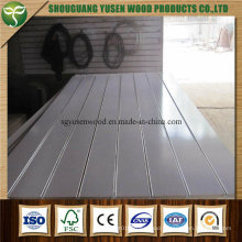 Different Colors Slotted MDF Board